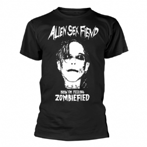 Zombiefied Alien Sex Fiend Mens T-shirt